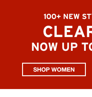 NOW UP TO 65% OFF CLEARANCE | SHOP WOMEN