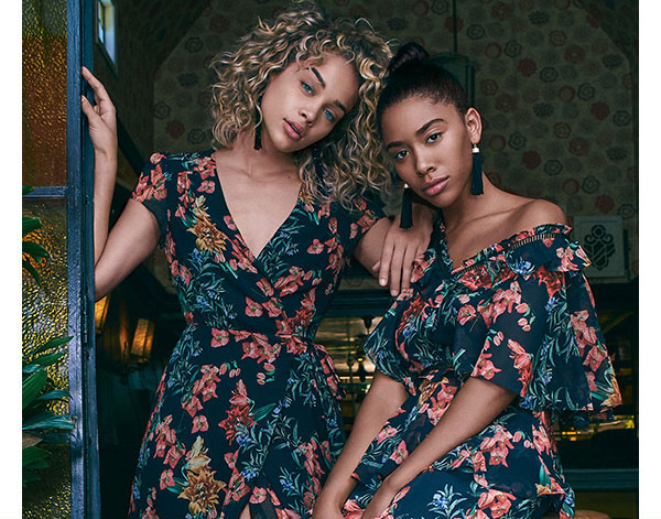 Full-On Floral   Check out these pretty new prints we designed.   SHOP FLORALS >