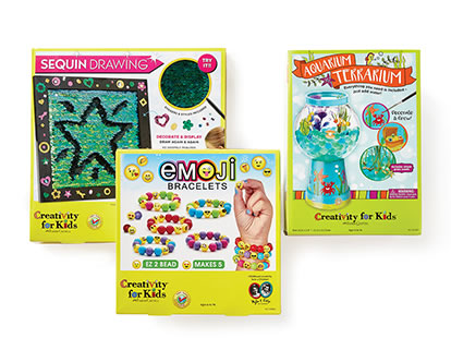 Creativity for Kids Crafts and Activity Kits.