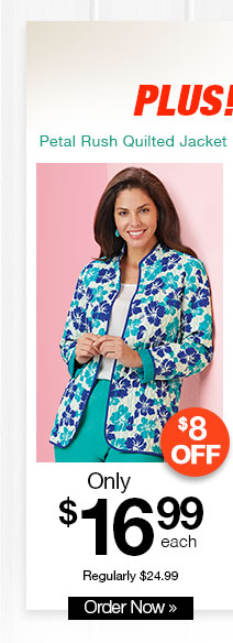 Tudor Court? Petal Rush Quilted Jacket