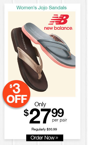 New Balance Jojo Sandals
