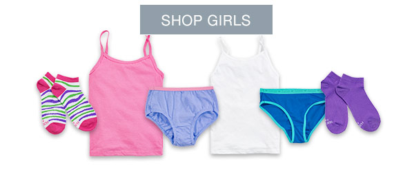 Girls' Underwear Two-fer Deals