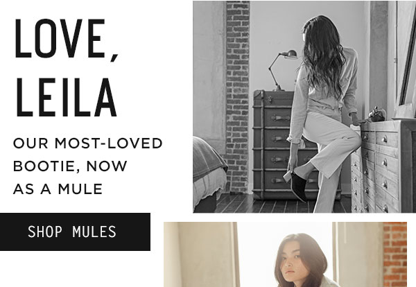Love, Leila - shop mules