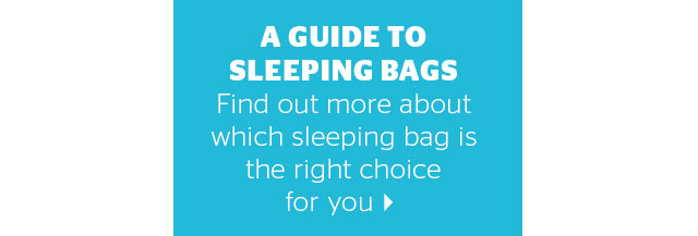 A guide to sleeping bags