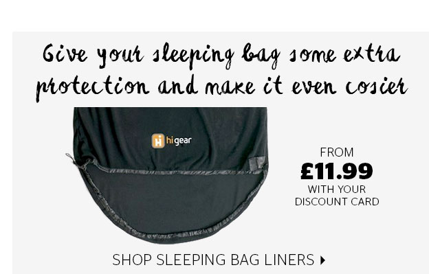 Give your sleeping bag some extra protection and make it even cosier