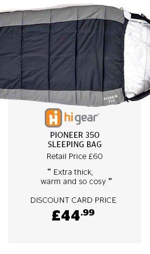 Hi Gear Pioneer 350 Sleeping Bag