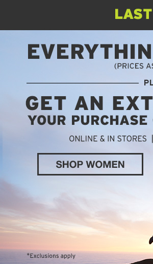 30% OFF EVERYTHING | SHOP WOMEN
