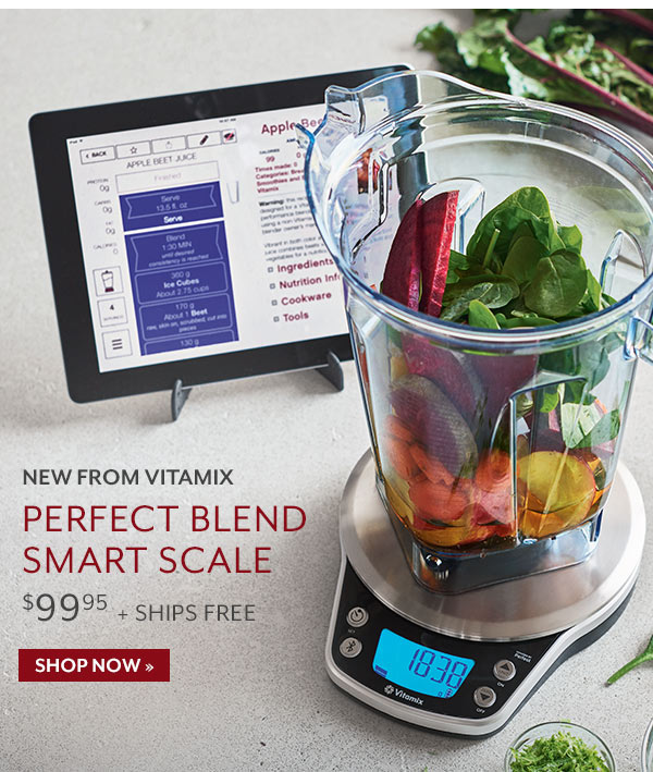 Sur la table meet the perfect blend smart scale from for Sur la table food scale