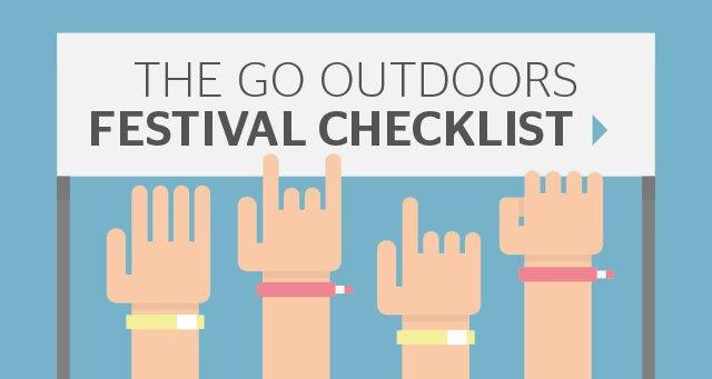 The GO Outdoors Festival Checklist