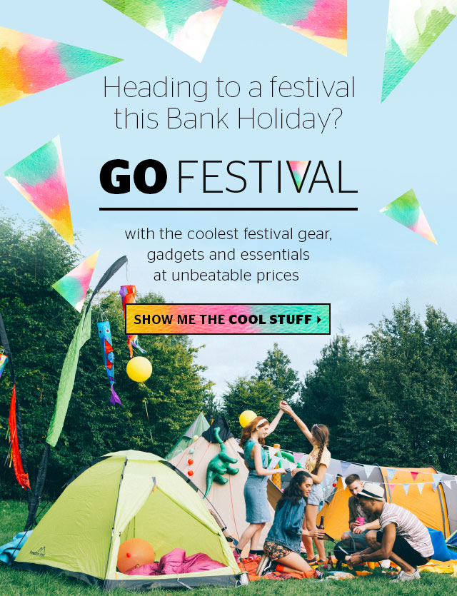 Heading to a festival this Bank Holiday?