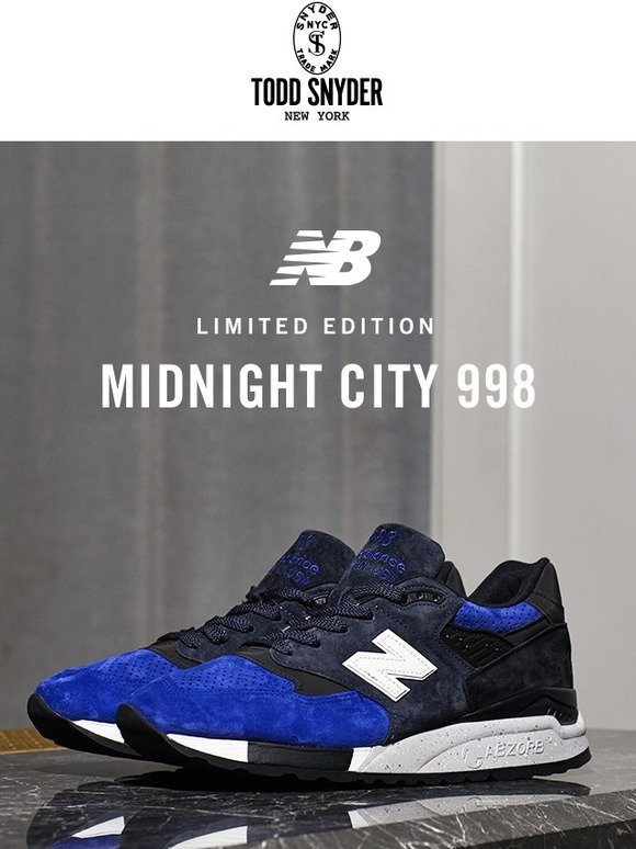reputable site a5971 bf1f0 Todd Snyder: New Sneaker Alert 👟 Todd Snyder x New Balance ...