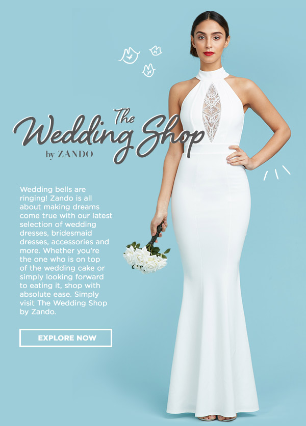 Zando SA: The Wedding Shop By Zando - Now Launched! | Milled