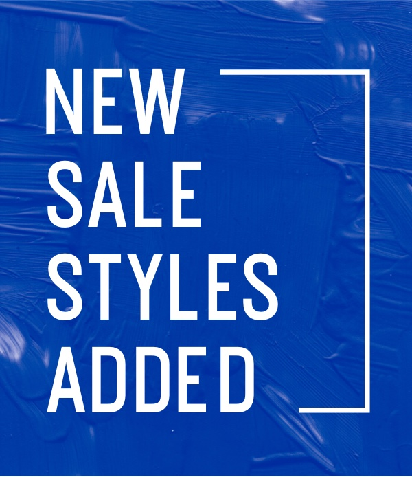 New Sale Styles Added