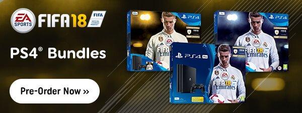 FIFA 18 - PS4 Bundles