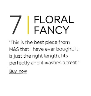 """This is the best piece from M&S that I have ever bought. It is just the right length, fits perfectly and it washes a treat."