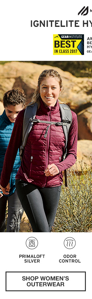 AWARD-WINNING. ADVENTURE-READY.  | SHOP WOMEN'S OUTERWEAR