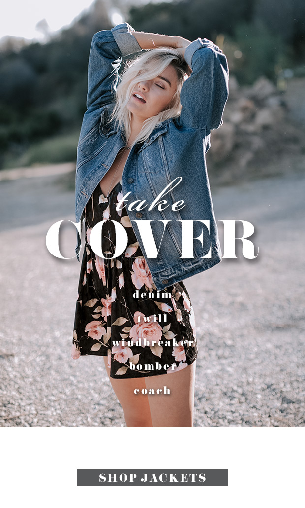 TAKE COVER - Shop Jackets