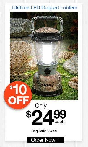 Lifetime LED Rugged Lantern
