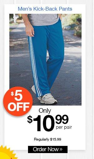 Men's Kick-Back Pants