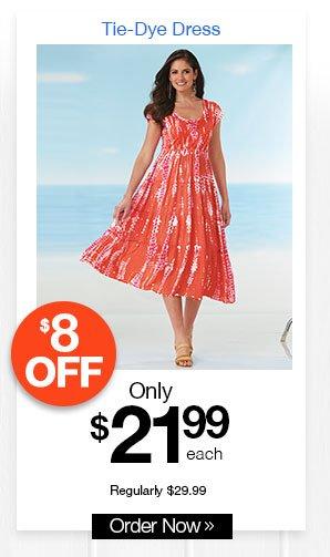 Tye-Dye Dress