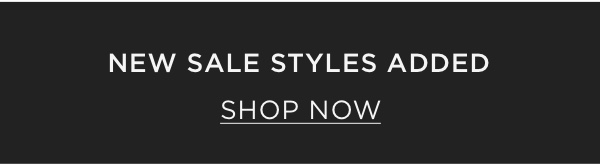 New Sale Styles Added - Shop Now