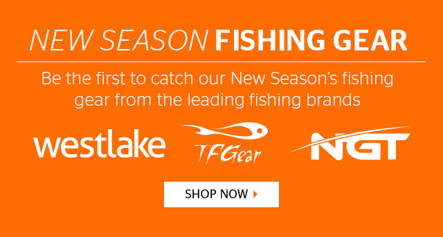 New Season Fishing Gear