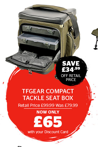 TFGear Compact Tackle Seat