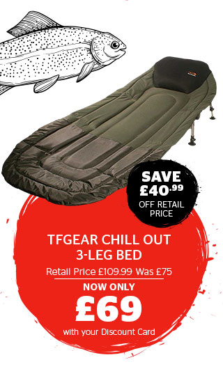 TFGear Chill Out 3-Leg Bed