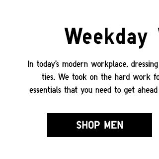Weekday Workwear - Shop Men