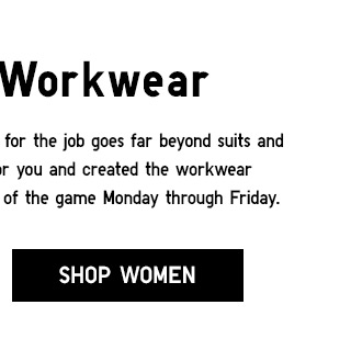 Weekday Workwear - Shop Women