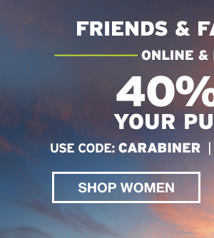 40% OFF EVERYTHING | SHOP WOMEN