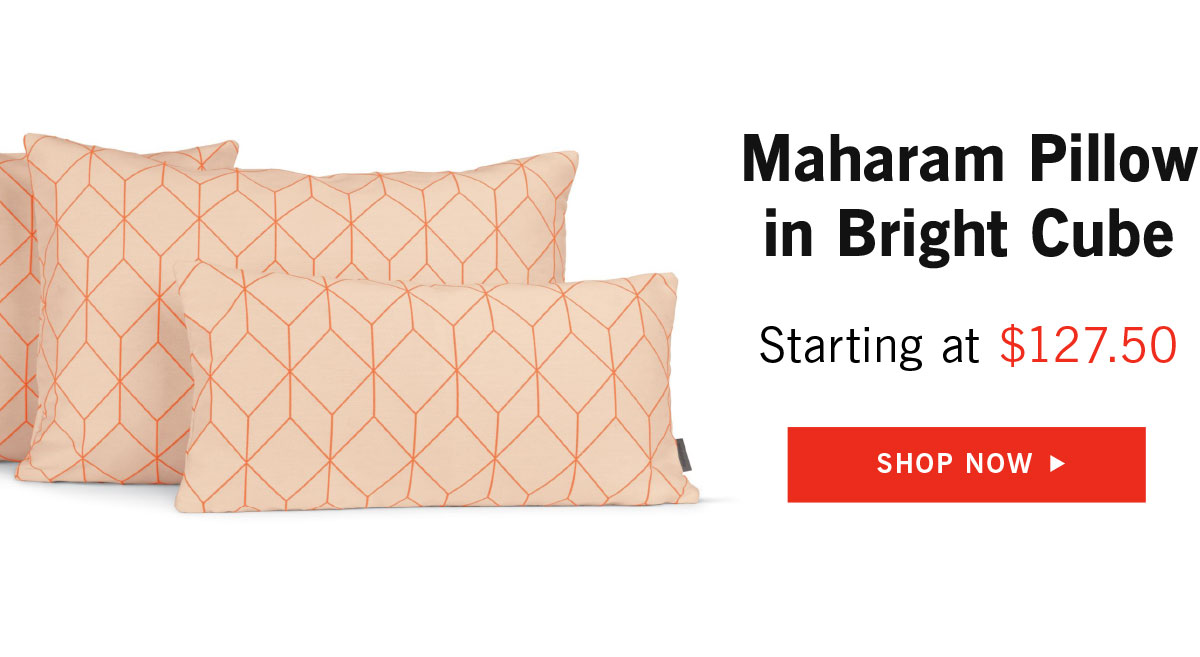 Maharam Pillow Bright Cube