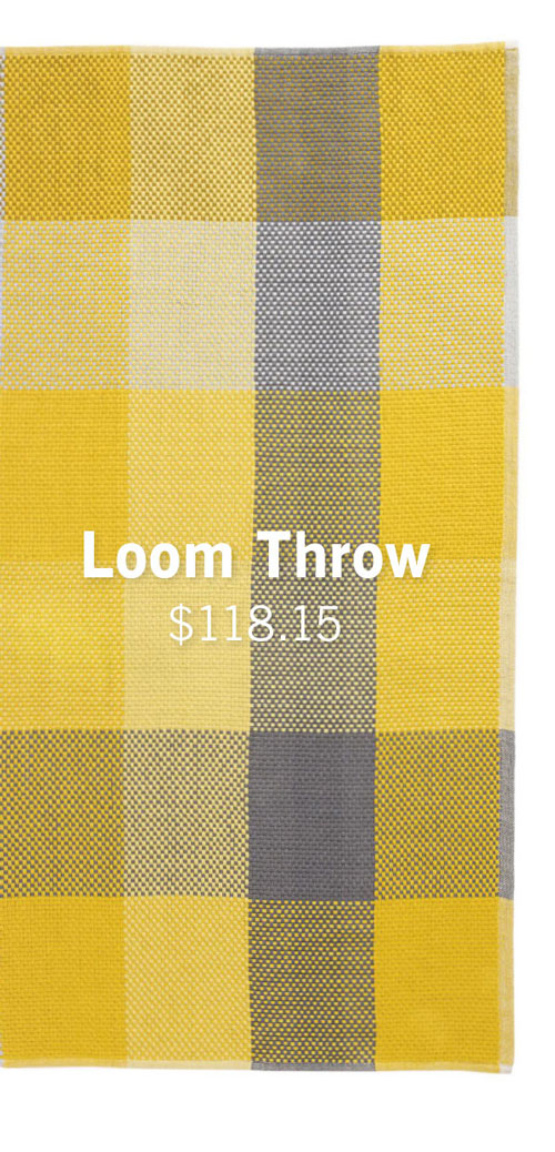 Loom Throw