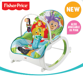 Fisher-Price Infant-to-Toddler Rocker - Green