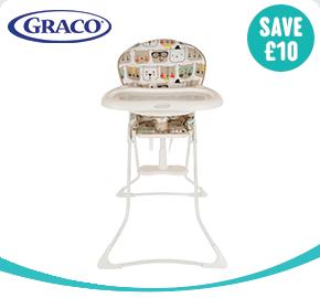 Graco Teatime Bow Time Bear High Chair