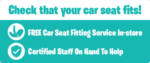 Check that your car seat fits!