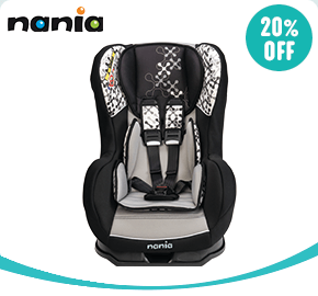 Nania Cosmo Corail Group 0-1 Car Seat Black