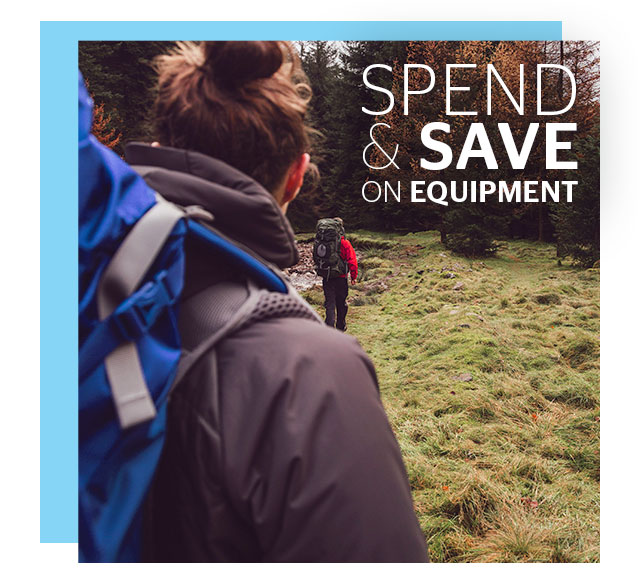 spend and Save on Equipment
