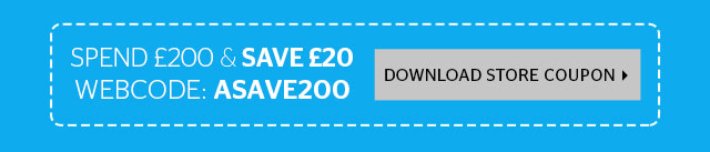 Spend £200 and save £20