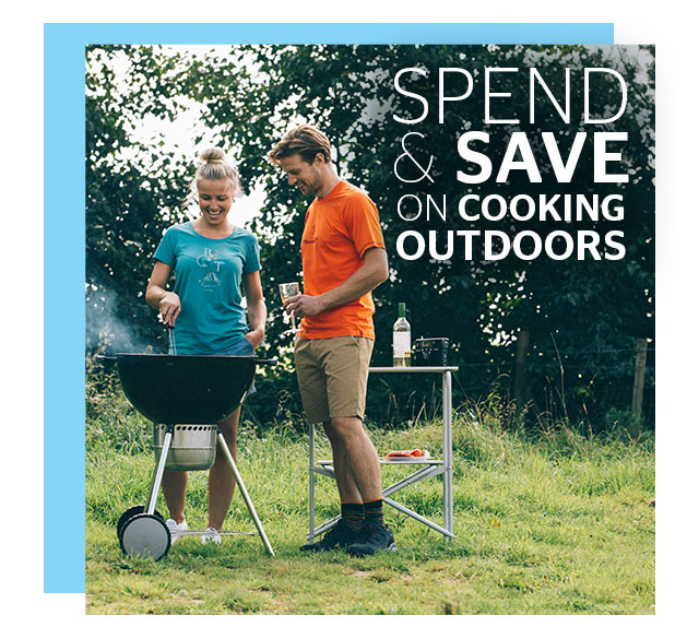 Spend and Save on Cooking Outdoors
