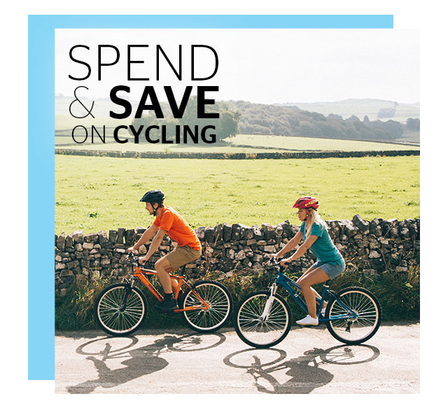 Spend and Save on Cyling