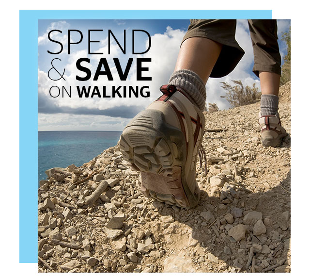 Spend and Save on Walking
