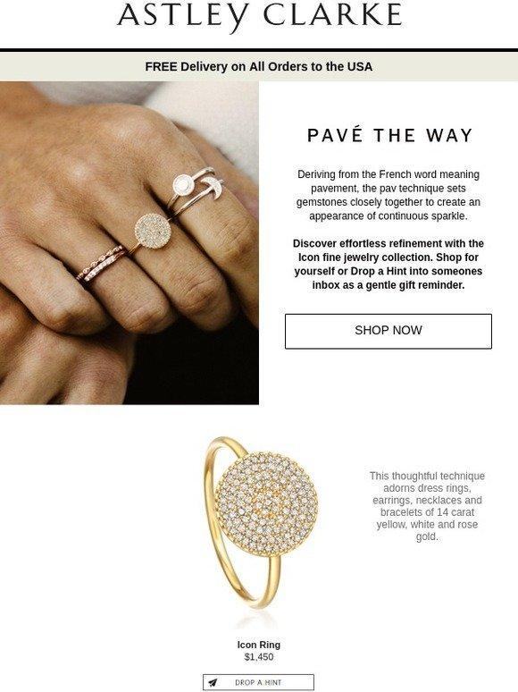 Astley Clarke: Pavé Diamonds: Micro Mosaics | Milled