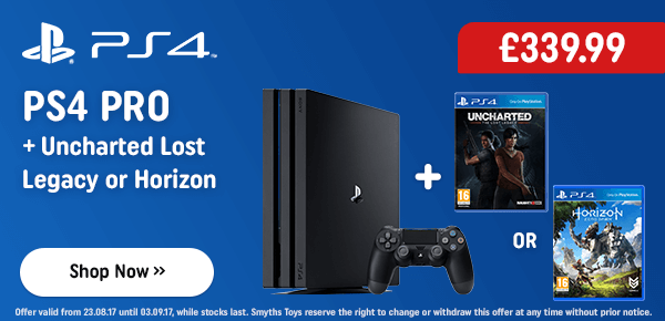 PS4 Pro + Uncharted Lost Legacy or Horizon