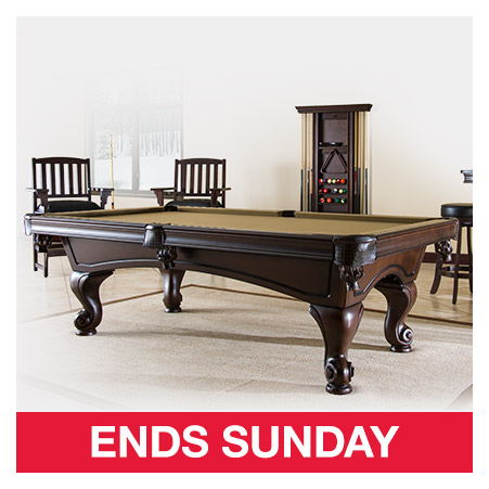 Costo S Of Offers Expire Sunday Shop Now Milled - American heritage madison pool table