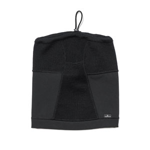 12035d2b9 Stone Island A-3 Lambswool With Fabric Details Neck Gaiter Black