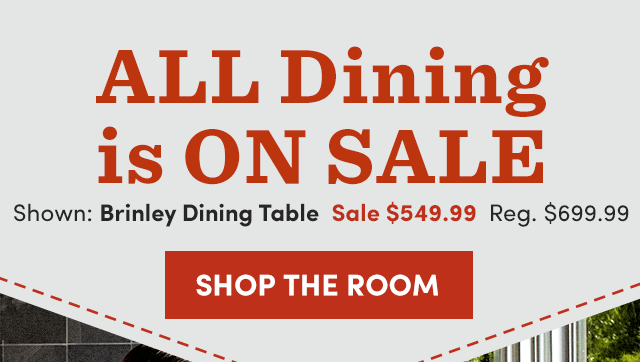 Brinley Dining Table - Sale $549.99