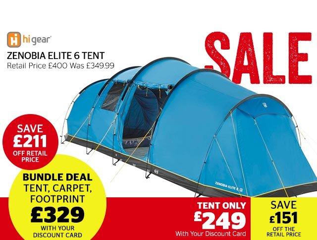 Hi Gear Zenobia Elite 6 Tent