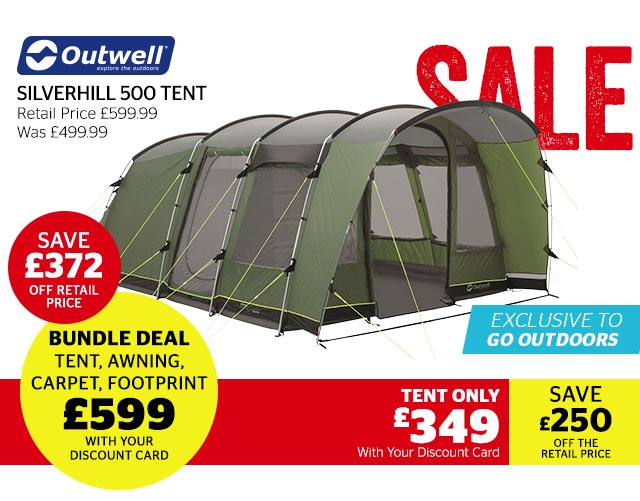 Outwell Silverhill 500 Tent