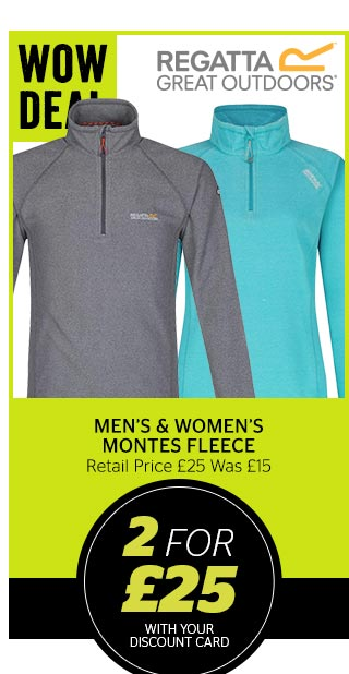 Regatta Men's and Women's Montes Fleece